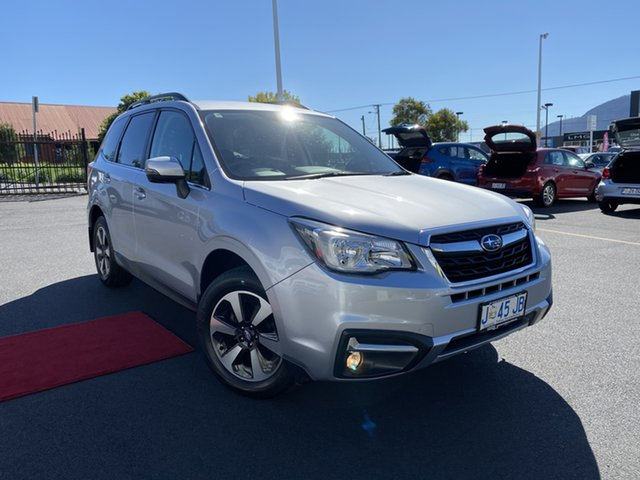 Used Subaru Forester S4 MY18 2.5i-L CVT AWD Glenorchy, 2018 Subaru Forester S4 MY18 2.5i-L CVT AWD Silver 6 Speed Constant Variable Wagon