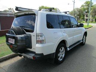 2008 Mitsubishi Pajero NS VR-X White 5 Speed Sports Automatic Wagon