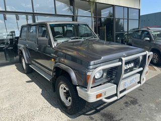 1992 Nissan Patrol GQ ST (4x4) Grey 4 Speed Automatic 4x4 Wagon.
