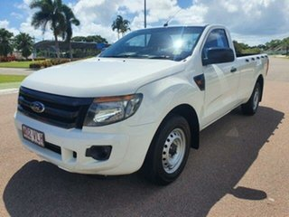 2015 Ford Ranger PX XL White 6 Speed Manual Utility.