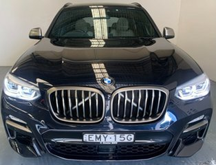 2018 BMW X3 G01 M40i Steptronic Carbon Black Metallic 8 Speed Automatic Wagon