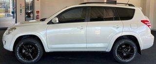 2010 Toyota RAV4 ACA33R MY09 Cruiser Pearl White 4 Speed Automatic Wagon