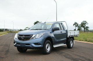 2017 Mazda BT-50 MY16 XT Hi-Rider (4x2) Blue 6 Speed Automatic Freestyle Cab Chassis.