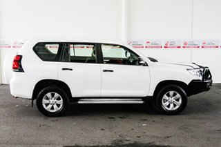 2018 Toyota Landcruiser Prado GDJ150R MY18 GX (4x4) Glacier White 6 Speed Manual Wagon