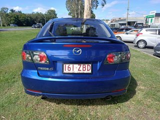 2005 Mazda 6 GG1031 MY04 Luxury Blue 4 Speed Sports Automatic Hatchback