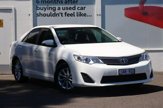 2013 Toyota Camry ASV50R Altise Diamond White 6 Speed Automatic Sedan.