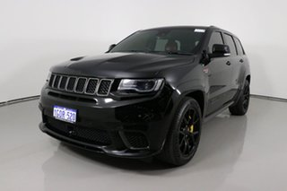 2018 Jeep Grand Cherokee WK MY18 Trackhawk (4x4) Black 8 Speed Automatic Wagon.