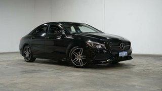 2018 Mercedes-Benz CLA-Class C117 809MY CLA200 DCT Cosmos Black 7 Speed Sports Automatic Dual Clutch.