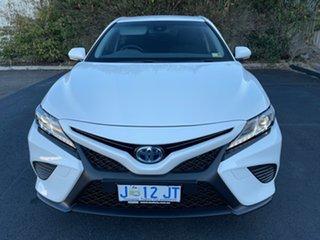 2019 Toyota Camry AXVH71R Ascent Sport White 6 Speed Constant Variable Sedan Hybrid.