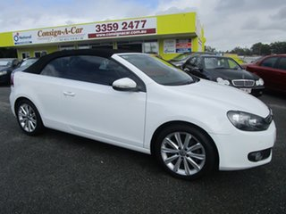 2014 Volkswagen Golf VI MY15 118TSI DSG Exclusive White 7 Speed Sports Automatic Dual Clutch.