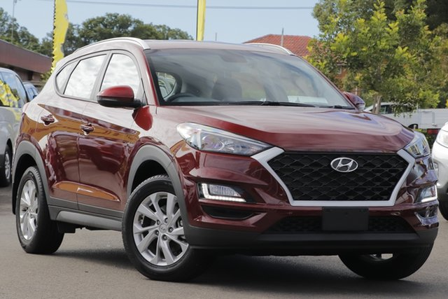 Used Hyundai Tucson TL3 MY19 Active X 2WD Toowoomba, 2019 Hyundai Tucson TL3 MY19 Active X 2WD Red 6 Speed Automatic Wagon