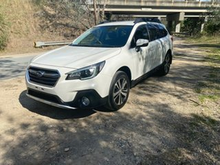 2017 Subaru Outback B6A MY18 2.5i CVT AWD White 7 Speed Constant Variable Wagon