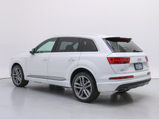 2019 Audi Q7 4M MY19 50 TDI Quattro White 8 Speed Automatic Tiptronic Wagon
