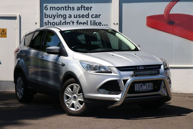 Pre-Owned Ford Kuga TF Ambiente AWD Ferntree Gully, 2014 Ford Kuga TF Ambiente AWD Silver 6 Speed Sports Automatic Wagon