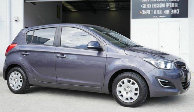 Used Hyundai i20 PB MY15 Active Capalaba, 2014 Hyundai i20 PB MY15 Active Grey 4 Speed Automatic Hatchback