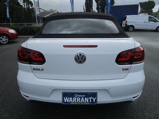 2014 Volkswagen Golf VI MY15 118TSI DSG Exclusive White 7 Speed Sports Automatic Dual Clutch