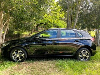 2021 Hyundai i30 PD.V4 MY21 Phantom Black 6 Speed Sports Automatic Hatchback.