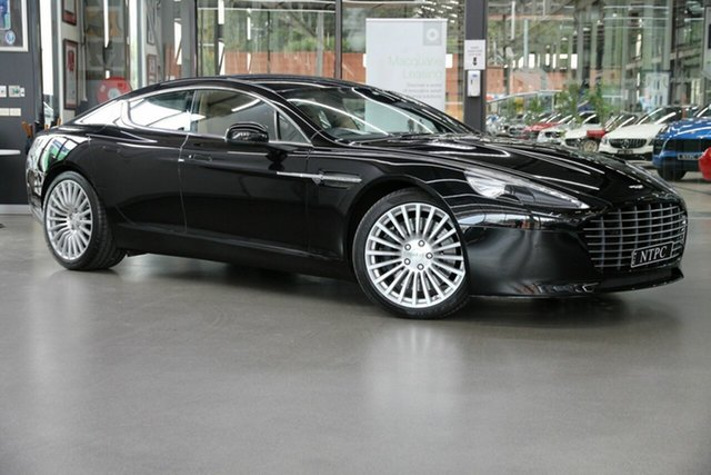 Used Aston Martin Rapide MY15 S Coupe SA North Melbourne, 2014 Aston Martin Rapide MY15 S Coupe SA Black 8 Speed Sports Automatic Hatchback