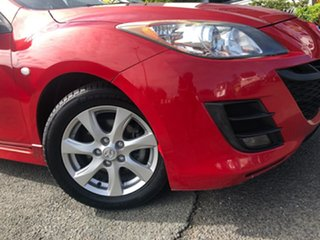 2010 Mazda 3 BL10F1 Maxx Activematic Sport Red 5 Speed Sports Automatic Sedan.