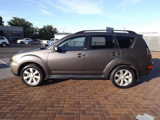2011 Mitsubishi Outlander ZH MY11 LS 6 Speed Constant Variable Wagon