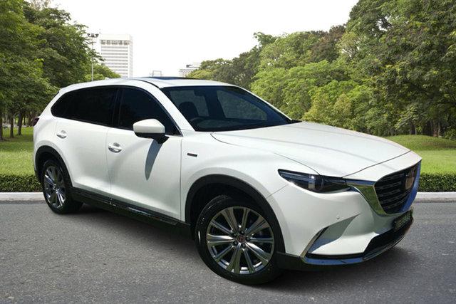 Demo Mazda CX-9 TC 100th Anniversary SKYACTIV-Drive i-ACTIV AWD Paradise, 2020 Mazda CX-9 TC 100th Anniversary SKYACTIV-Drive i-ACTIV AWD White Pearl 6 Speed Sports Automatic