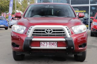 2010 Toyota Kluger GSU40R KX-R 2WD Maroon 5 Speed Sports Automatic Wagon.