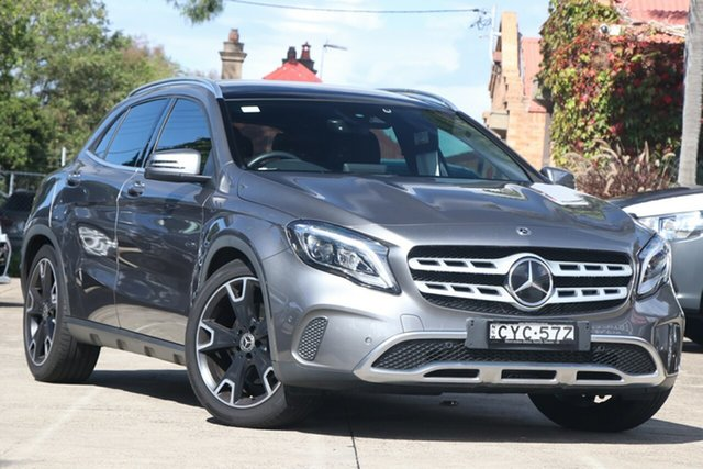 Pre-Owned Mercedes-Benz GLA250 4Matic X156 MY17 Mosman, 2017 Mercedes-Benz GLA250 4Matic X156 MY17 Grey 7 Speed Auto Dual Clutch Wagon