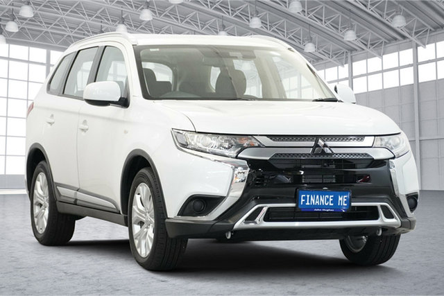 Used Mitsubishi Outlander ZL MY19 ES 2WD Victoria Park, 2019 Mitsubishi Outlander ZL MY19 ES 2WD White 6 Speed Constant Variable Wagon