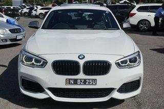 2018 BMW 1 Series F20 LCI-2 M140i White 8 Speed Sports Automatic Hatchback.
