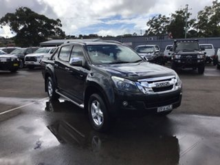 2015 Isuzu D-MAX MY15 LS-Terrain Crew Cab Black 5 Speed Sports Automatic Utility.