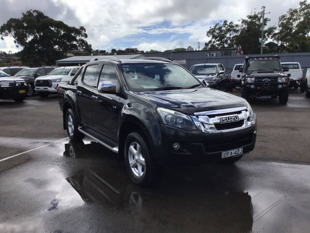 Pre-Owned Isuzu D-MAX MY15 LS-Terrain Crew Cab Cardiff, 2015 Isuzu D-MAX MY15 LS-Terrain Crew Cab Black 5 Speed Sports Automatic Utility