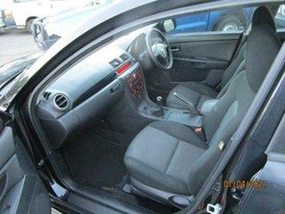2007 Mazda 3 BK MY06 Upgrade Maxx Black 5 Speed Manual Sedan