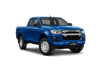 2021 Isuzu D-MAX RG MY21 SX Space Cab 4x2 High Ride 565 6 Speed Sports Automatic Utility