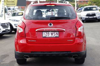 2015 Ssangyong Korando C200 MY15 S 2WD Red 6 Speed Automatic Wagon
