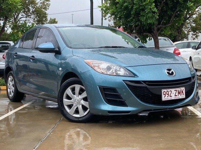 Used Mazda 3 BK10F2 MY08 Neo Sport Toowoomba, 2009 Mazda 3 BK10F2 MY08 Neo Sport Blue 4 Speed Sports Automatic Sedan