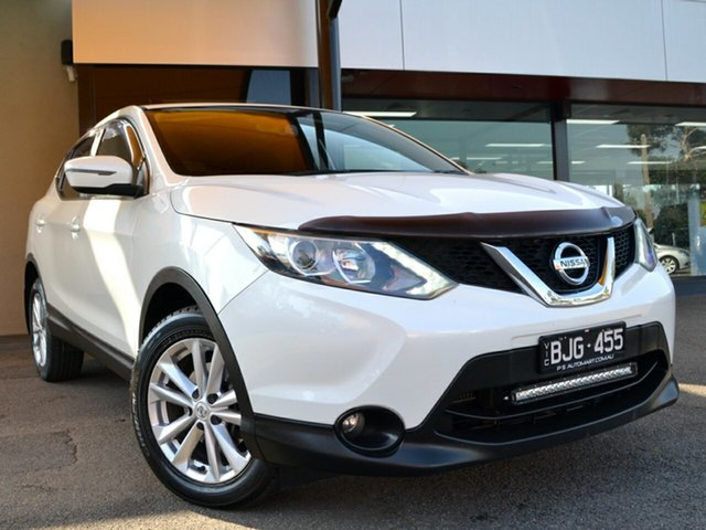 Used Nissan Qashqai J11 TS Fawkner, 2015 Nissan Qashqai J11 TS White 1 Speed Constant Variable Wagon