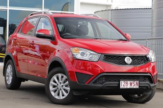 2015 Ssangyong Korando C200 MY15 S 2WD Red 6 Speed Automatic Wagon.