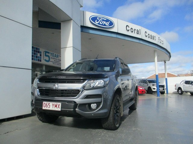 Used Holden Colorado RG MY17 Z71 (4x4) Bundaberg, 2017 Holden Colorado RG MY17 Z71 (4x4) Grey 6 Speed Automatic Crew Cab Pickup