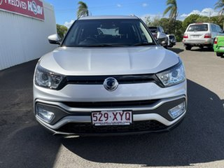 2019 Ssangyong Tivoli XLV X100 Ultimate AWD Silver 6 Speed Sports Automatic Wagon