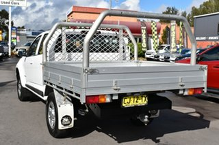 2016 Holden Colorado RG MY16 LS Crew Cab 4x2 White 6 Speed Manual Cab Chassis.