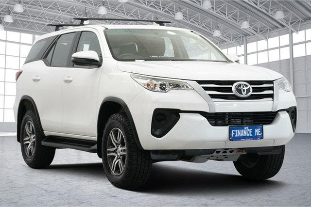 Used Toyota Fortuner GUN156R GX Victoria Park, 2018 Toyota Fortuner GUN156R GX White 6 Speed Automatic Wagon