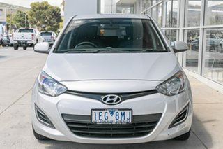 2015 Hyundai i20 PB MY15 Active Silver 6 Speed Manual Hatchback