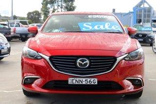 2018 Mazda 6 GL1031 Atenza SKYACTIV-Drive Red 6 Speed Sports Automatic Sedan