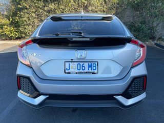 2019 Honda Civic 10th Gen MY18 VTi Silver 1 Speed Constant Variable Hatchback