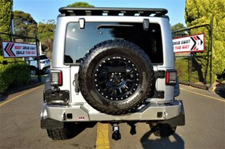 2013 Jeep Wrangler JK MY2013 Overland Silver 5 Speed Automatic Hardtop