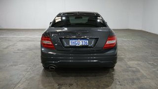 2014 Mercedes-Benz C-Class C204 MY14 C180 7G-Tronic + Grey 7 Speed Sports Automatic Coupe