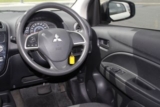 2014 Mitsubishi Mirage LA ES White Continuous Variable Hatchback