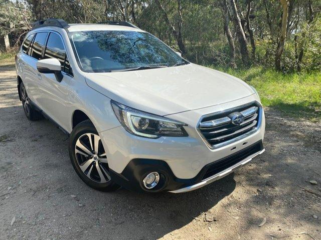 Used Subaru Outback B6A MY18 2.5i CVT AWD Wodonga, 2017 Subaru Outback B6A MY18 2.5i CVT AWD White 7 Speed Constant Variable Wagon