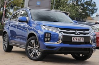 2020 Mitsubishi ASX XD MY21 Exceed 2WD Lightning Blue 1 Speed Constant Variable Wagon.