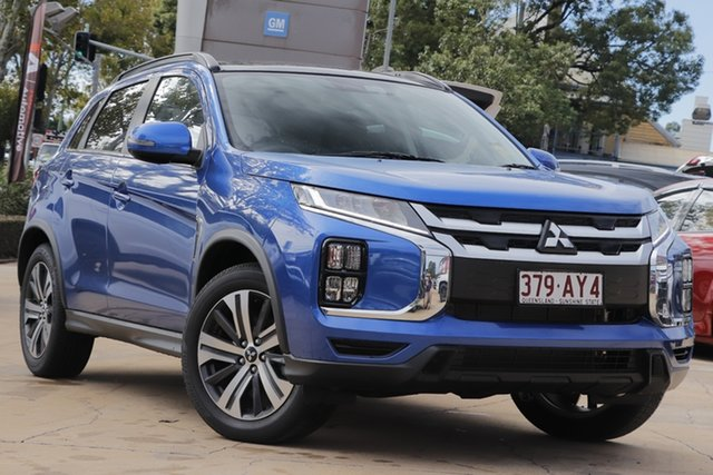 Demo Mitsubishi ASX XD MY21 Exceed 2WD Toowoomba, 2020 Mitsubishi ASX XD MY21 Exceed 2WD Lightning Blue 1 Speed Constant Variable Wagon